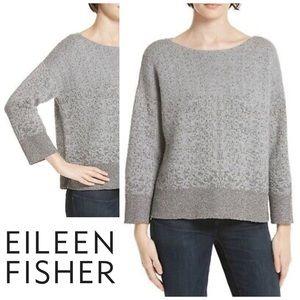 EILEEN FISHER   Merino Wool Italian Yarn sweater